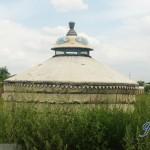 内蒙古的成吉思汗纪念堂