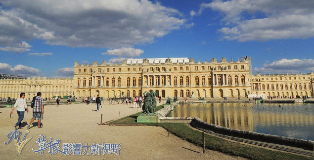 绚丽繁华的凡尔赛宫