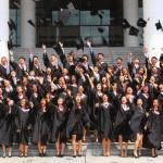 毕业一大仪式——拍毕业照
