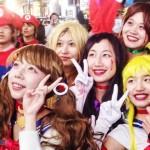 东京万圣节,丰富多彩的装扮世界