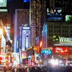 纽约的42街(内含时代广场跨年倒数)