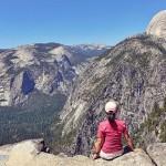 爬美国优胜美地-瀑布山林殿堂