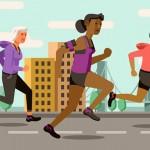 女生跑步优势