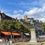 美丽的法国中古世纪小镇Dinan