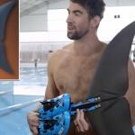 高科技鱼尾能帮助菲尔普斯赢得与鲨鱼的比赛吗?