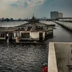 印尼雅加达快速沉没中