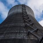 1980年代的废弃核能发电厂
