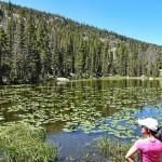 美国洛矶山国家公园山中之湖