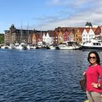 挪威的海港古都卑尔根Bergen