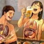 吸烟饮酒会造成青少年动脉受损