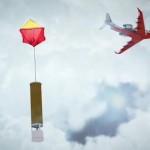 飞上高空侦测台风