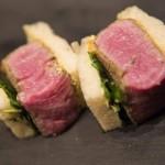 美金175元的神户牛排三明治