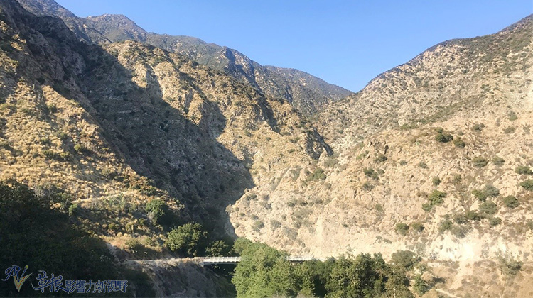 三个东洛杉矶的爬山地点