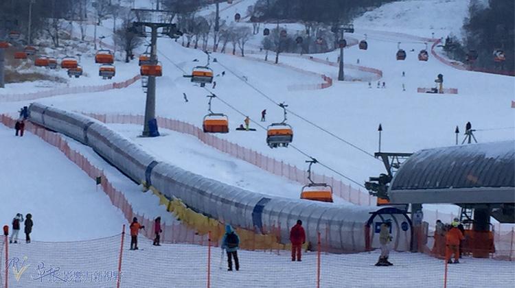 东北冰雪(十)  吉林松花湖度假区与滑雪场