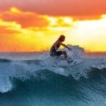 冲浪有益身心健康