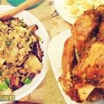 自制感恩节的火鸡大餐