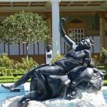 依山傍水的洛杉矶盖提庄园博物馆