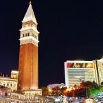 赌城拉斯维加斯的威尼斯酒店