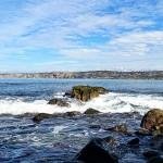 加州圣地牙哥拉荷亚海边