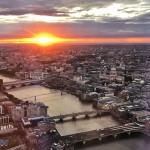 相见恨晚:伦敦的夕阳