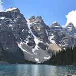 加拿大班夫国家公园大山大水