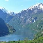 挪威的人间仙境-盖朗格小镇