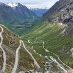 九弯十八拐:挪威的老鹰之路