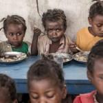 非洲儿童近一半死于饥饿