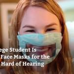 美大四生为聋哑人士研发特殊口罩