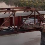 古老火车摇身一变成豪华饭店