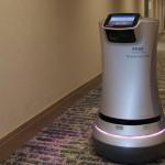 机器人Rosé为饭店执行防疫客房服务