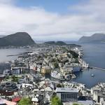 挪威Alesund的惊险大挑战