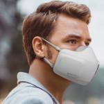 净化空气和紫外线消毒的高科技口罩