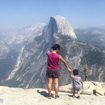 优胜美地的三点全露:Glacier Point、Washburn Point、Dewey Point