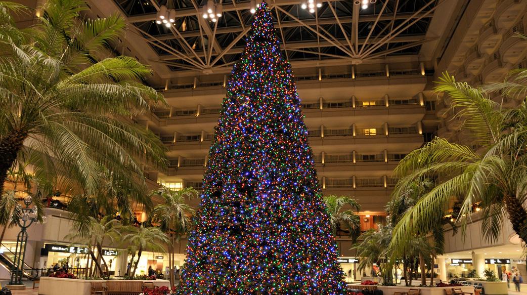 美国圣诞节期仍以飞机为主要交通工具
