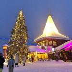 芬兰罗瓦涅米的圣诞快乐