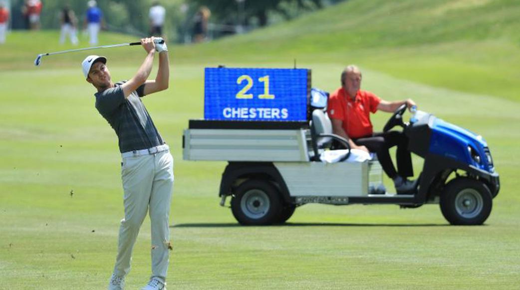 三十分钟打完一场高尔夫球