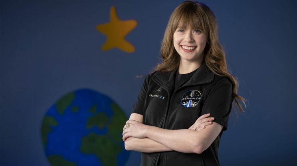 最年轻登入太空的美国女性