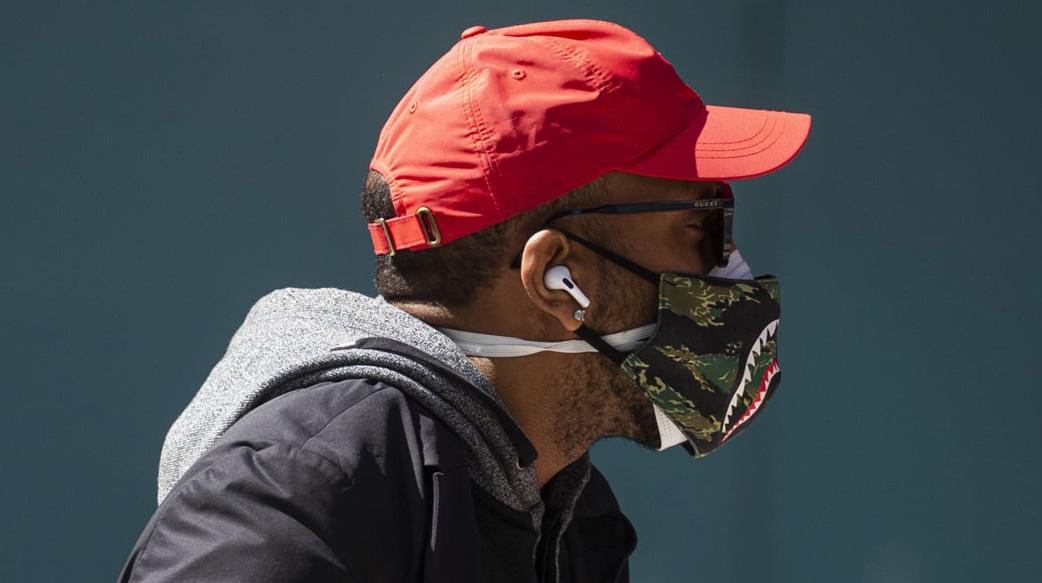 双口罩可降低96%感染率