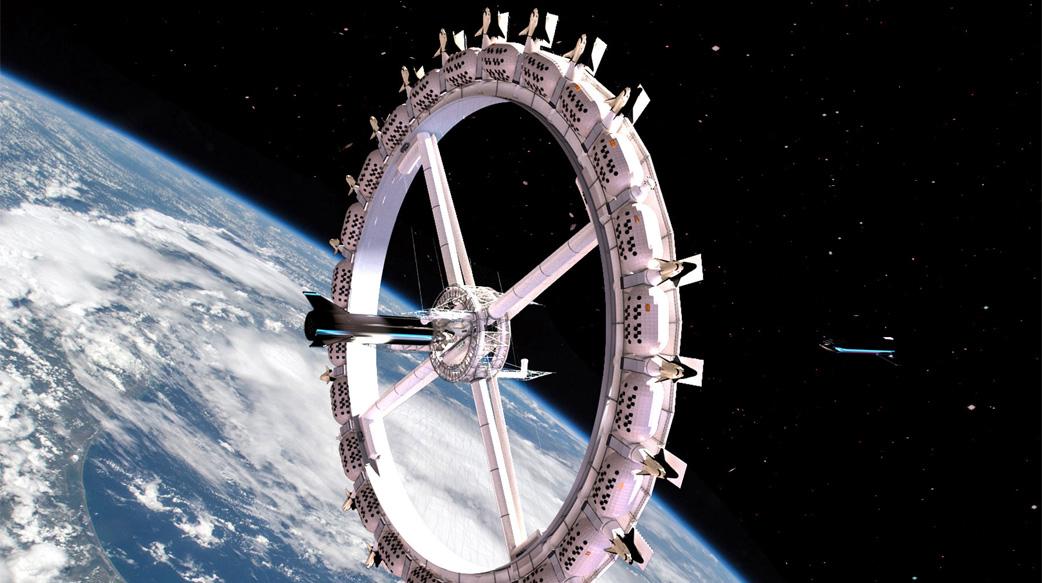 外太空第一间旅店预计2027年开幕