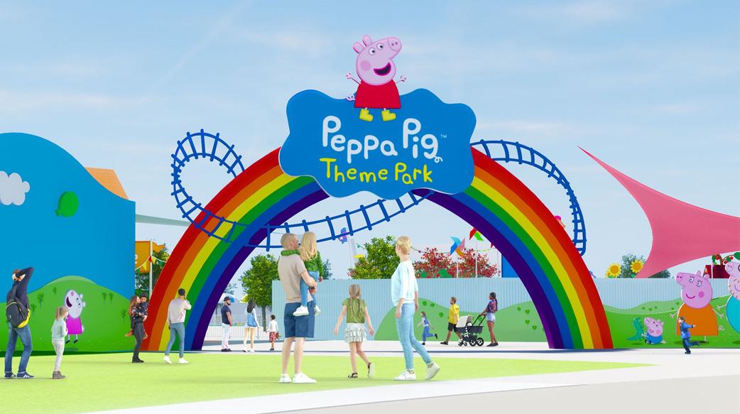 佩佩猪主题公园将于佛罗里达乐高园亮相