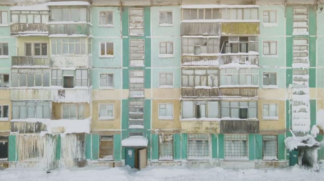 俄罗斯极圈里冰封的鬼城