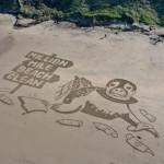 英环保团体发起百万哩海滩清洁计划